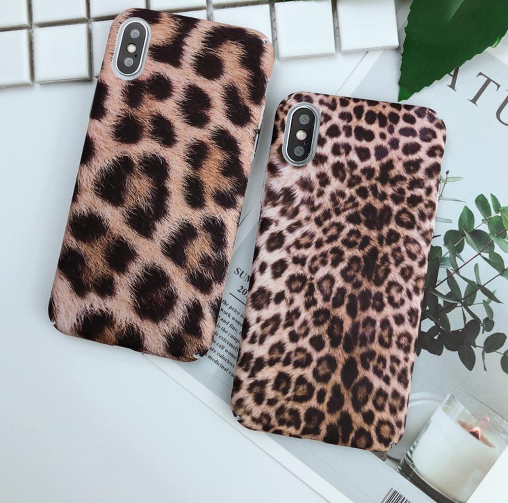 2018 iphone Cases Luxury Leopard Print