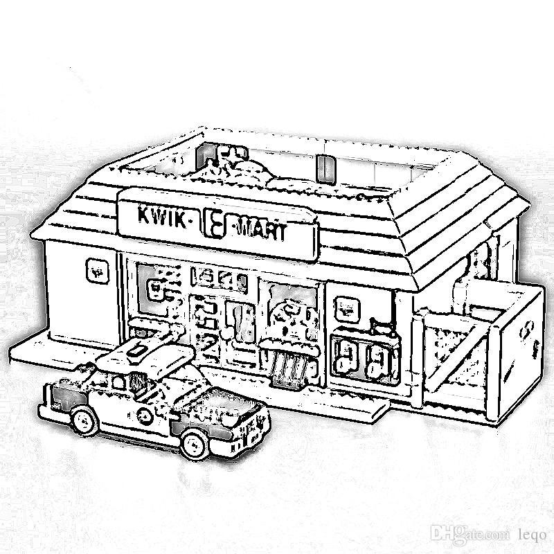 The Simpsons Mechanial Pencil /& 2 Ball-Point Pen Kwk Kwik-E-Mart