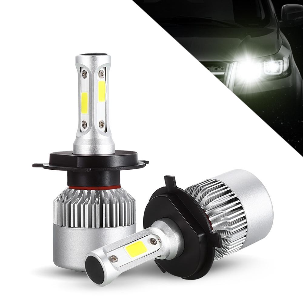 Winsun S2 H4 Paar Auto-LED-Scheinwerfer 9 - 30V 72W 6000K Frontseiten-Lampen S2 9-30V 72W H4 Auto LED-Scheinwerfer Montage
