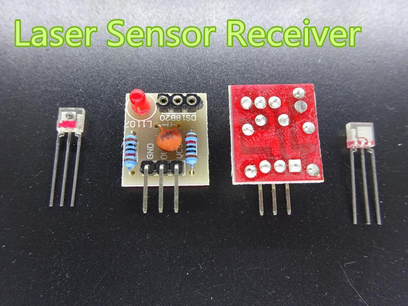 10PCS//LOT Laser Sensor Module non-modulator Tube Laser Receiver New Module