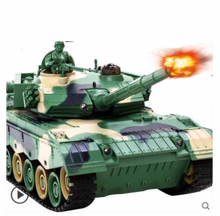 Rc Battle Tank telecomando divertente guerra di ripresa su larga scala serbatoi radio dell'esercito controllo battaglia Modello millitary RC serbatoio