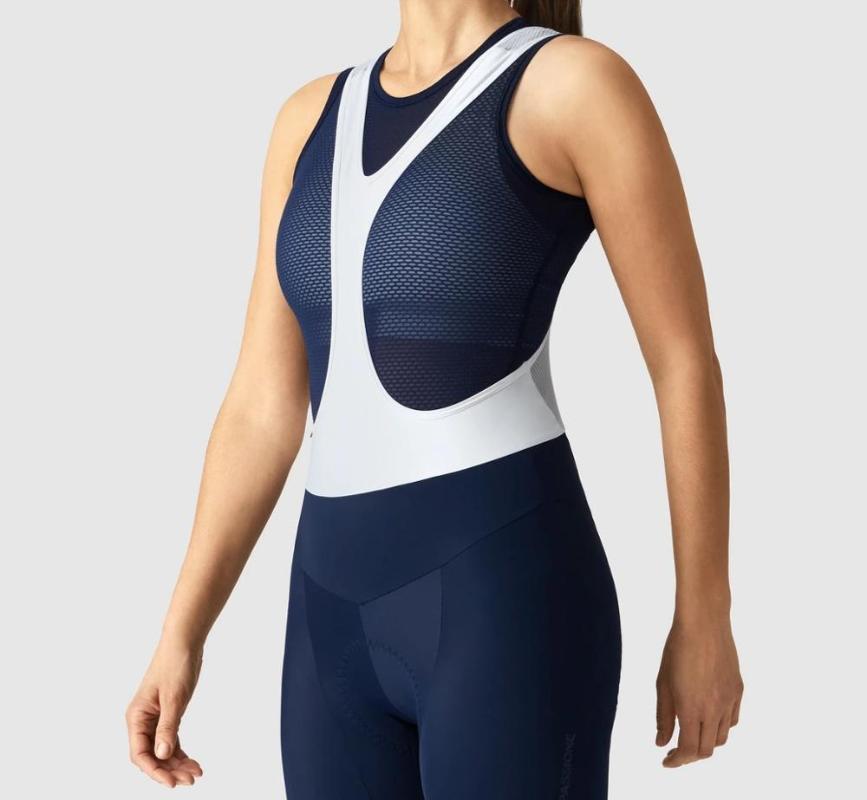 2020 womens Navy Pro Race BIB leggeri in pettorina 40D lycra con Pad Itlay ad alta densità per 5-6 ore di marcia pantaloncini da corsa