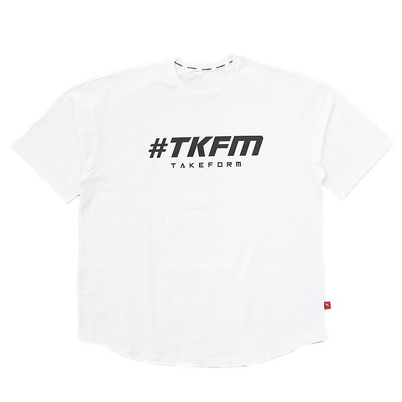 Men's T-Shirts 2021 Concept Hip Hop Urban Short-sleeved Shirt T-shirt Long Section Clothing Curved Hem Men