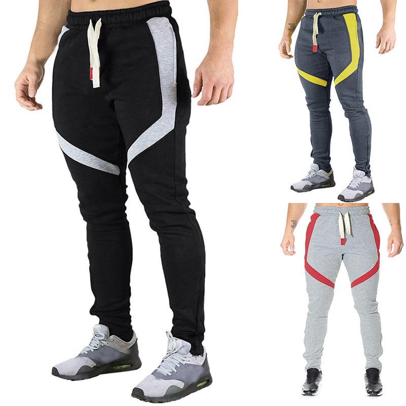 Designer Herren Sport Hose 2020 New Jogger Sport GYM Fitness trainieren Männer Hosen Pantalones beiläufige Kleid der Männer