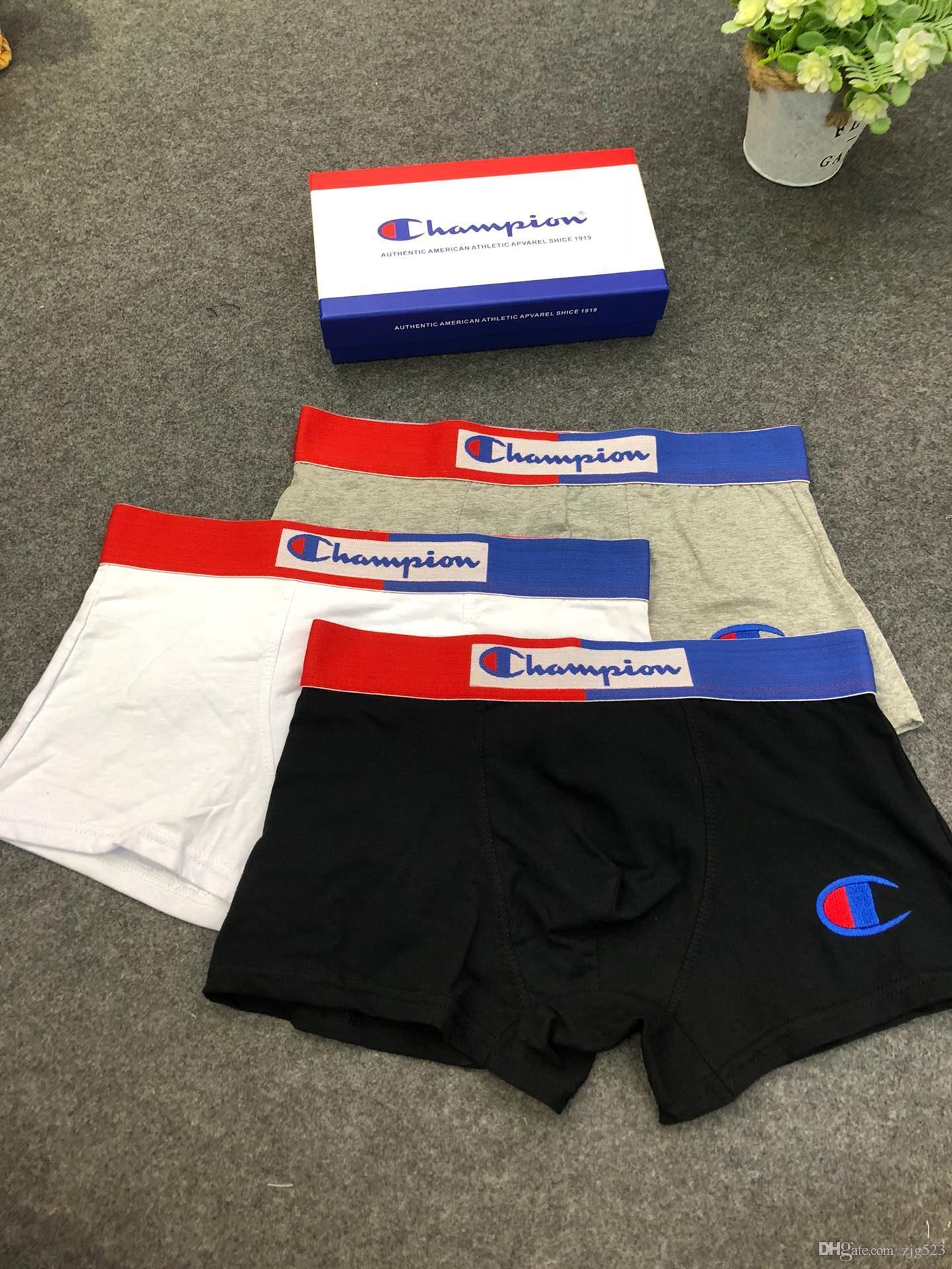 2019 desinger boxer brief für mann underpanties sexy underwear herren boxer baumwolle underwear shorts fisch muster männlichen boxershorts