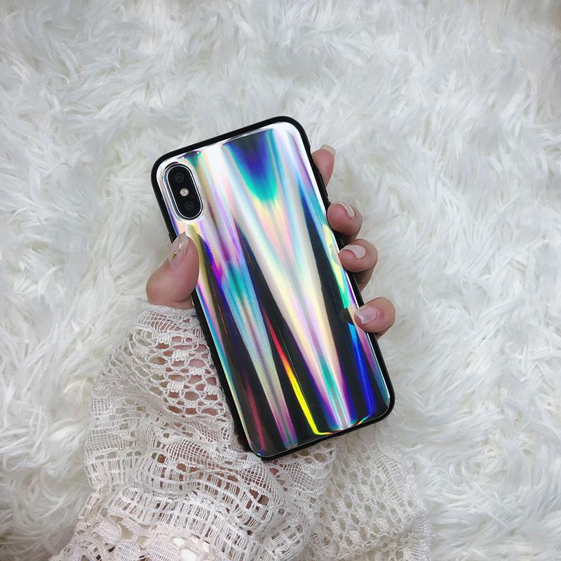xr telefon kılıfı Degrade renk her şey dahil cep telefonu kılıfı sert kabuğu Destek 2PCS teslim karşıtı düşmek iphone xs için