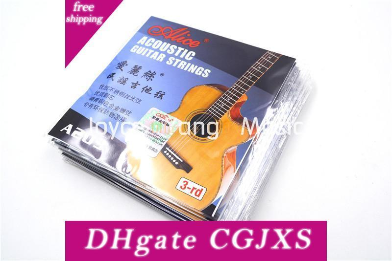 10 Stück Alice A203sl 024 Einzel Akustik-Gitarren Saiten 3. G -3 Phosphor Bronze Farbe Alloy Wound String