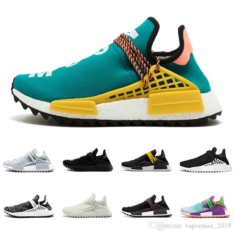 2020 Nmd Human Race Hu Pharrell Williams Men Women Running Shoes