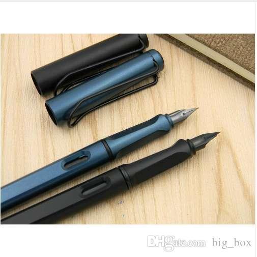 مكتب الكلاسيكية القياسية ماتي أسود أخضر بندقية المنقار الأسود هدية نافورة القلم