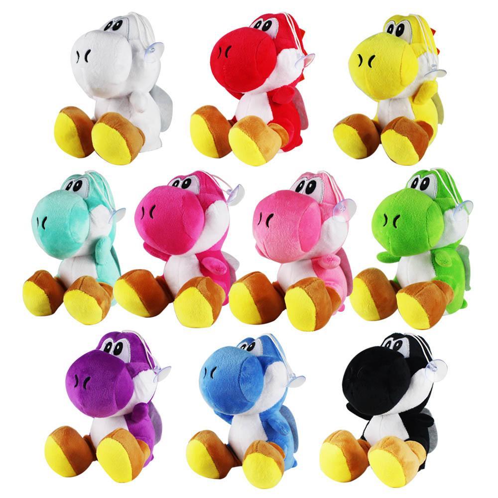 2020 18cm Super Mario Bros Yoshi Plush Toys Sitting Yoshi Soft