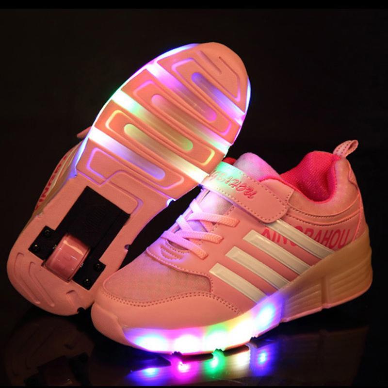 Kids Glowing Sneakers Kids Sneakers