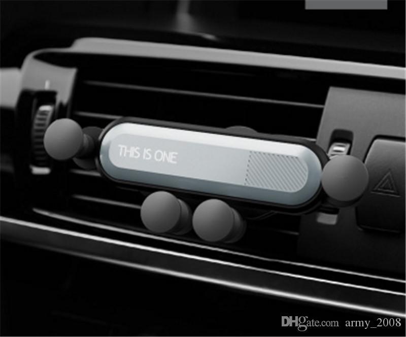 Универсальный автомобильный держатель для мобильного телефона с креплением для вентиляционных отверстий - это один кронштейн для телефона в автомобильной подставке для всех телефонов iphone huawei xiaomi