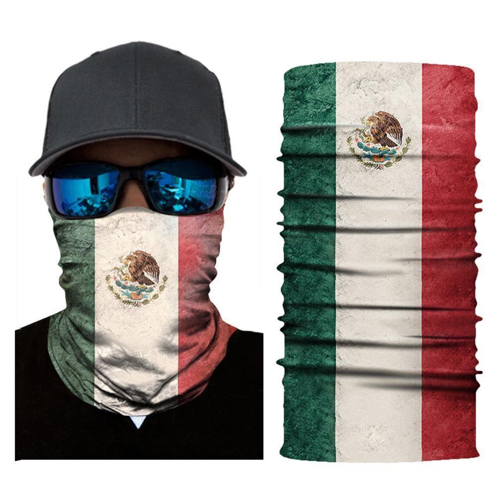 الوطنية سلسلة العلم الرقبة الجرموق بالاكلافا في الهواء الطلق قناع الوجه باندانا العصابة