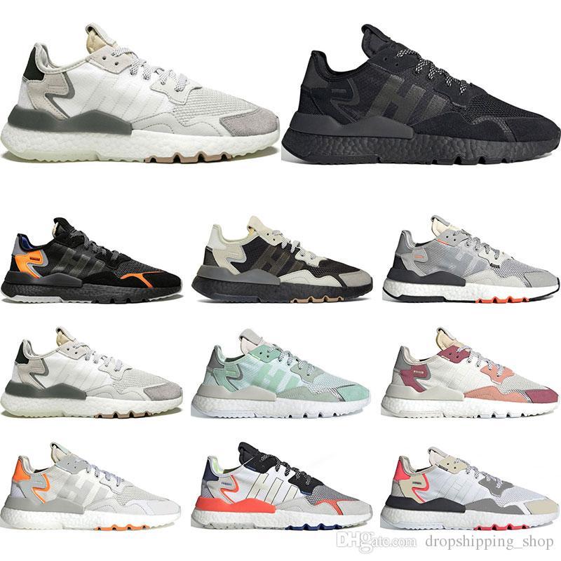 남성 여성 트리플 검정, 흰색 통기성 트레이너 스포츠 운동화 크기의 신발을 실행하는 2020 무한 조깅 EQT의 반사 36-45