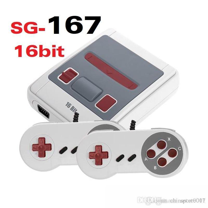 16bit Super MINI MD Video Game Console SG-167 SG167 SG 167 16 Bit Handheld Game Player For Sega Games Consoles
