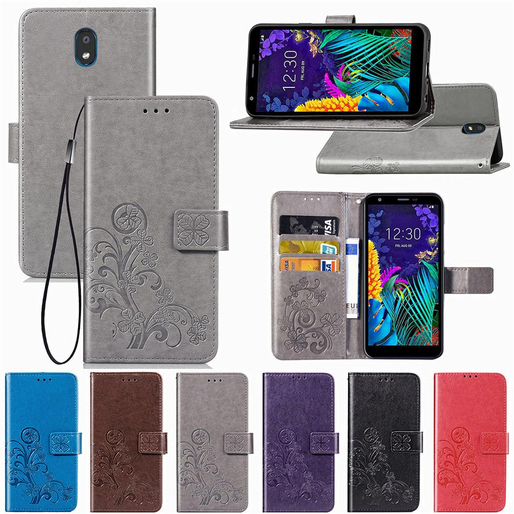 Mobile Phone Case For Lg K30 2019 Version Pu Leather Cover With Wallet Card Holder Embossed Lucky Four Leaf Patternk30 2019 Mobile Phone Cases Cell Phone Covers From Phonedress Coocoo 2 72 Dhgate Com