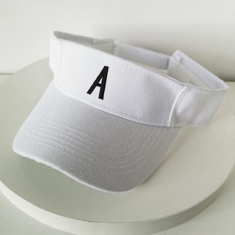 Chapéu boné de beisebol feminino verão cap esportes selvagem chapéu maré sol sem a parte superior sol superior vazio