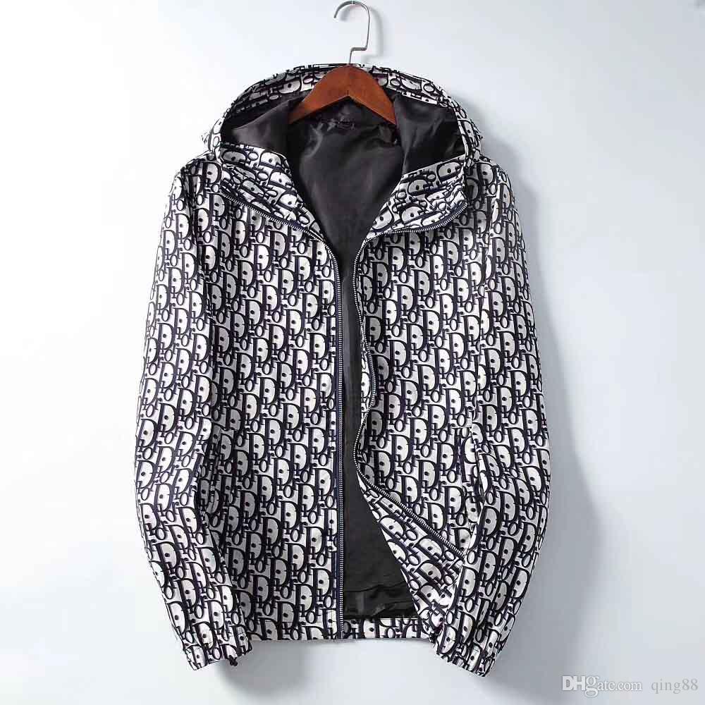 10 DHL Moda Erkek Medusa ceketler WINDBREAKER Hoodie Ceket Erkekler Kadınlar Sonbahar Kış Streetwear Spor Casual Ceketler Coats