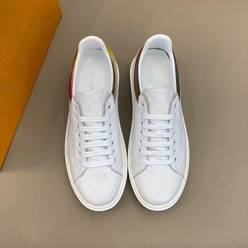 2020 Moda Sapatos Homem Outono CasualLouissapatosVuittonTendência respirável Sneakers For Men Zapatosn Hombre Flats # 1 515
