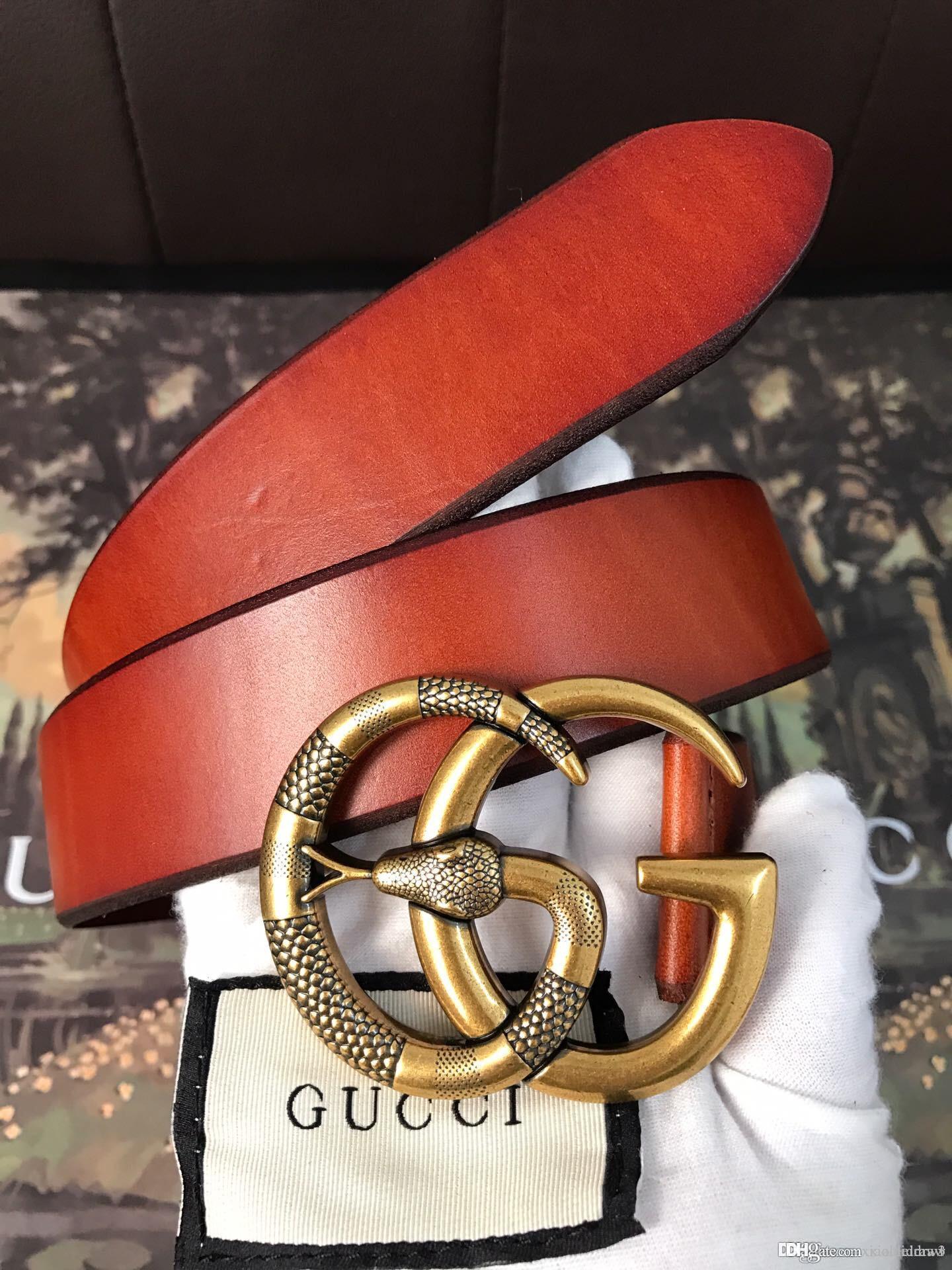 Mejor cinturón 88123 cinturón de ocio de moda, todo tipo de estilos, la producción de cuero real con la caja original, la fuente de la fábrica