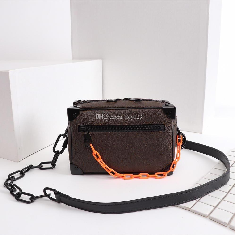 Neueste Schulterbeutel der Männer hochwertigen Luxus-Tasche Mode Alphabet Muster Paris MINI SOFT STAMM Handtasche Größe 18x13x8cm Modell M44480