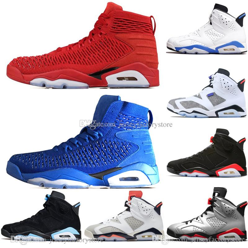 2019 Bred VI 6 6s Hommes Chaussures de basket-ball Infrarouge 23 Bugs 3M Reflective Lapin Tinker Black Cat Hommes Sports Sneakers Baskets femme Baskets