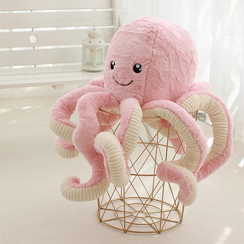 Peluche di simulazione Octopus bambola Octopus Big Octopus Bambola Ocean Seabed Bio Squid