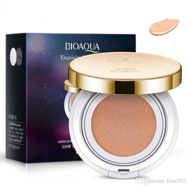 Hot selling BIOAOUA Flawless Air Cushion BB Cream Moisturizing natural conceals naked makeup Skin color hydration cosmetics T9F003