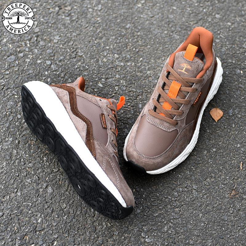 Top quality wave runner v2 mens casual shoes treeperi basfboost grey volt navy bordeaux black olive luxury designer chaussures US 36-45