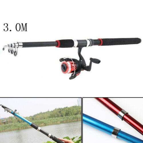 Fishing Rod Ultralight Carbon Fiber Telescopic Portable Sea Pole