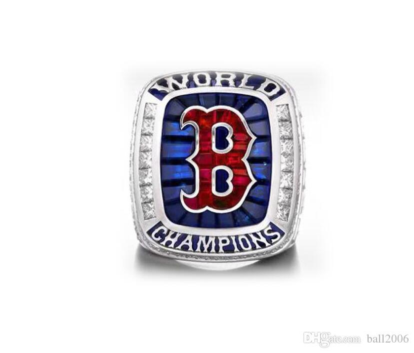 2019 Fan Collection Boston Red Sox 2018 Чемпионат кольцо Дарить подарки друзьям 9 10 11 12 13