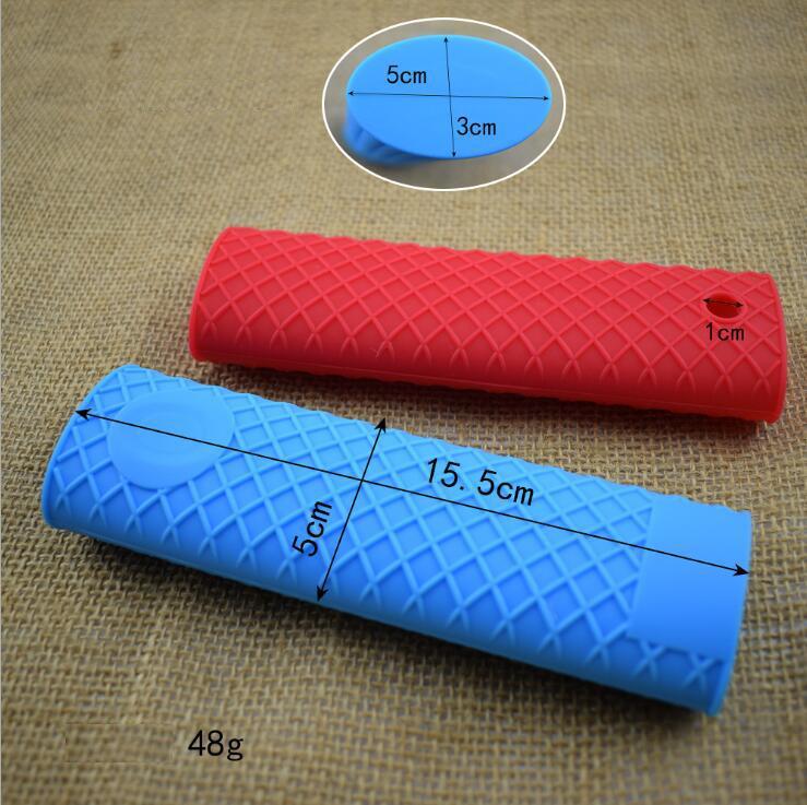 resistente al calore Haudang Manopole in silicone per padelle in ghisa