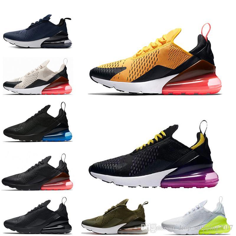 Compre Nike Air Max 270 Shoes Nuevos Zapatos De Hombre 2019 Para Correr  Chaussures Tigre Hyper Grape Hot Punch Clásico Hombre Mujer Zapatos Designe  ...