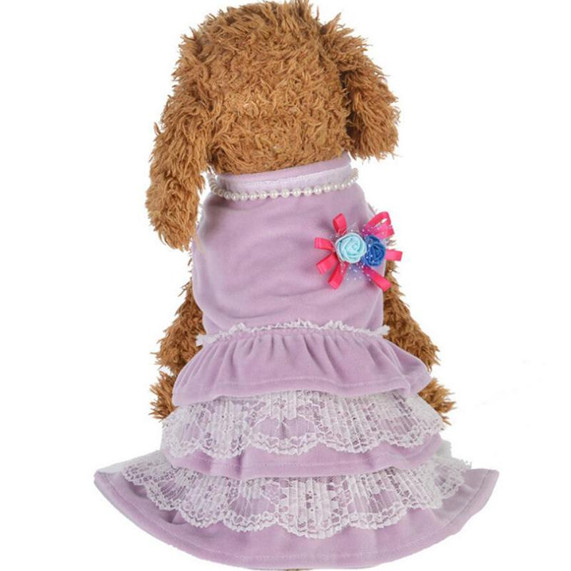 Köpek Giyim Oyuncak Etek Köpek Giyim Boncuklu Kek Etek Daha Xiong Bomei Kedi Kostüm Pet Etek Bahar Ve Sonbahar İnce Kesit