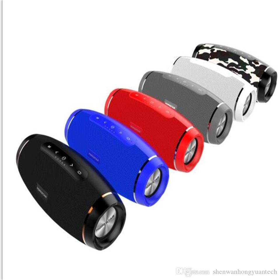 HOPESTAR H27 الركبي اللاسلكية بلوتوث المتكلم العمود ستيريو 10W مكبرات الصوت للماء مضخم صوت TF راديو مربع شاحن شاحن boombox شاحن MP3