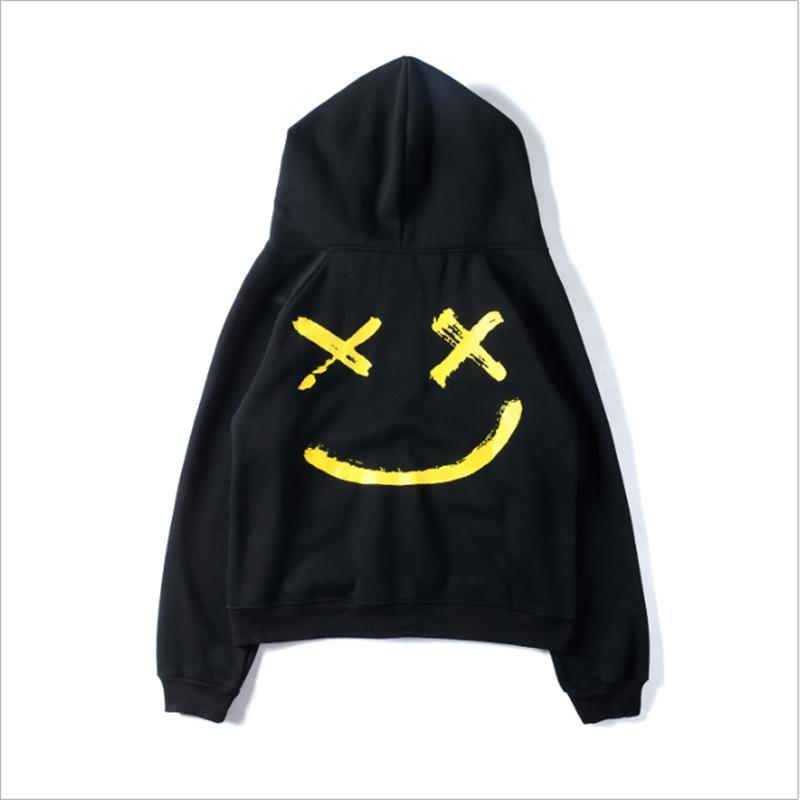 Heiße Verkaufs-2020 kühle Art Männer New Design Patchwork-Hip-Hop Hoodies Männer Mode Langarm-T-Shirt Outwear Plus Size