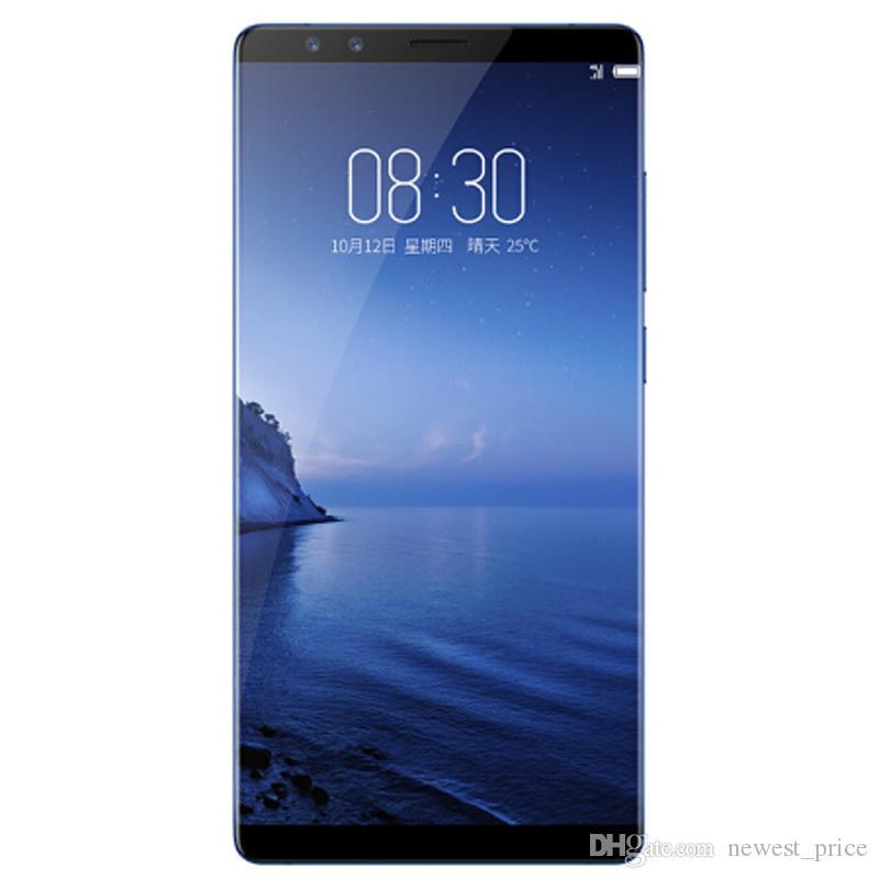 "Original de telefone celular ZTE Nubia Z17S 4G LTE 8GB de RAM 128GB ROM Snapdragon 835 Android 5,73"" Full 23MP tela Fingerprint ID Smart Mobile Telefone"