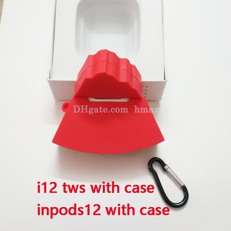 i12 TWS inpods inpods12 12 sem fio Bluetooth Headphones 5.0 Stereo telefone celular caso Earphones Sports Sweatproof Headphone Toque Earbuds