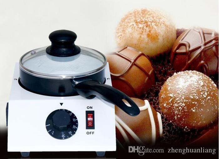 Nahrungsmittelgrad-Meltinchoc-Schokoladen-Tempering-Schmelzmaschine