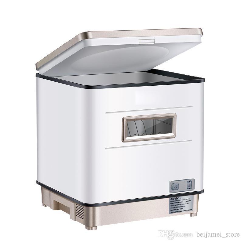 BEIJAMEI 2019 New Hot Lavastoviglie Domestico Automatico Desktop Independent Embedded Intelligent Sterilization and Drying Installation free
