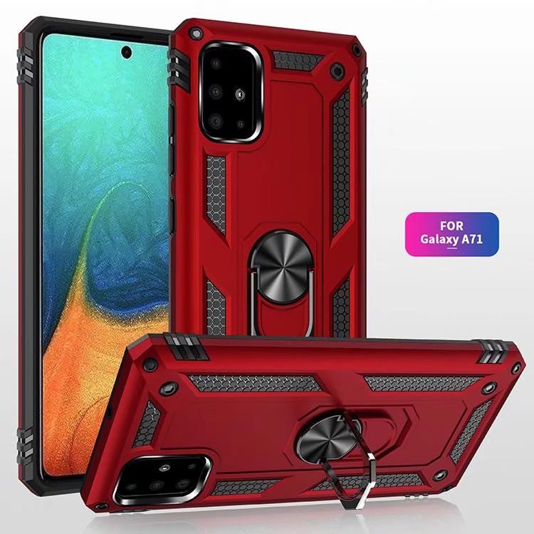 Antiurto Custodia per Samsung Galaxy Note 20 Ultra S20 A71 A51 5G A21S A41 A31 A21 A11 A01 A30s A20s A10s A70 A50 A20 A20E Custodia Kickstand