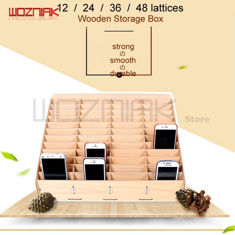 WOZNIAKMobile schermo LCD del telefono Storage Box Pinzetta Bolt driver legnosità bagagli Toolbox grande capacità di finitura Desktop