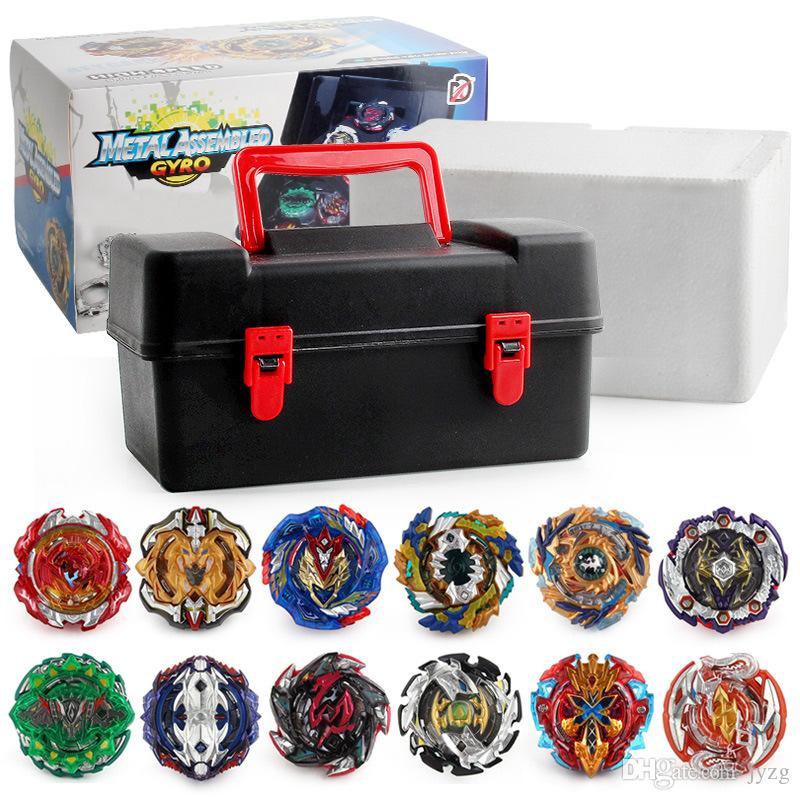 Beyblade 12pc/box Beyblade burst Beyblades Metal Fusion Arena 4D bey blade Launcher Spinning Top Beyblade Toys For kids toys