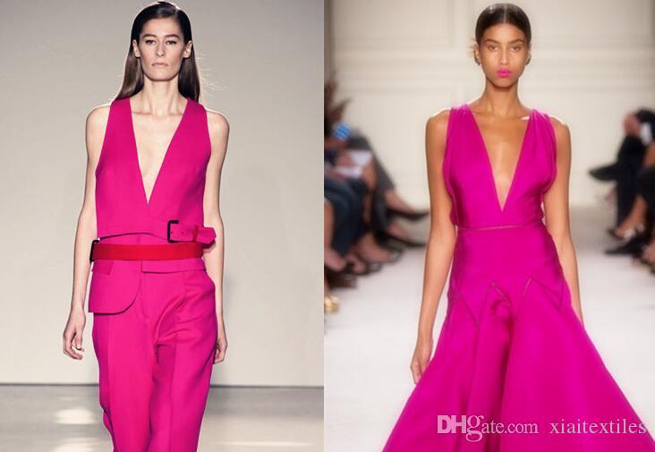 Tweed Rose metallic PU leather fabric dress coat patent mirror dance waterproof diy textiles elastic tissu cloth fabric C938