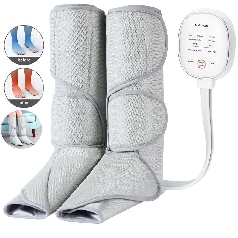 Ноги и ноги Массажер для циркуляции теленка Циркуляционного машина с Handheld Controller 2 режимами, снятие усталости
