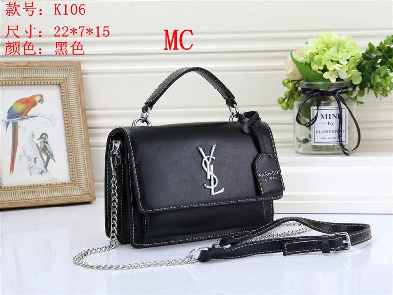Hot new 2019 Sale Fashion Vintage Handbags Women bags Designer Handbags Wallets for Women Leather Chain Bag Crossbody and Shoulder Bags