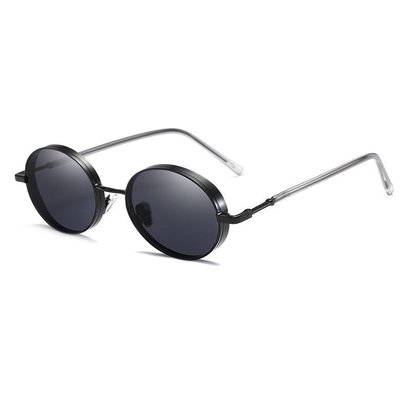 699ee8ce75371d Oculos De Sol Feminino Redondo Zonnebril Dames Ladies Luxury Shades Round  Sunglasses for Women Men Hippie Vintage Sun Glasses