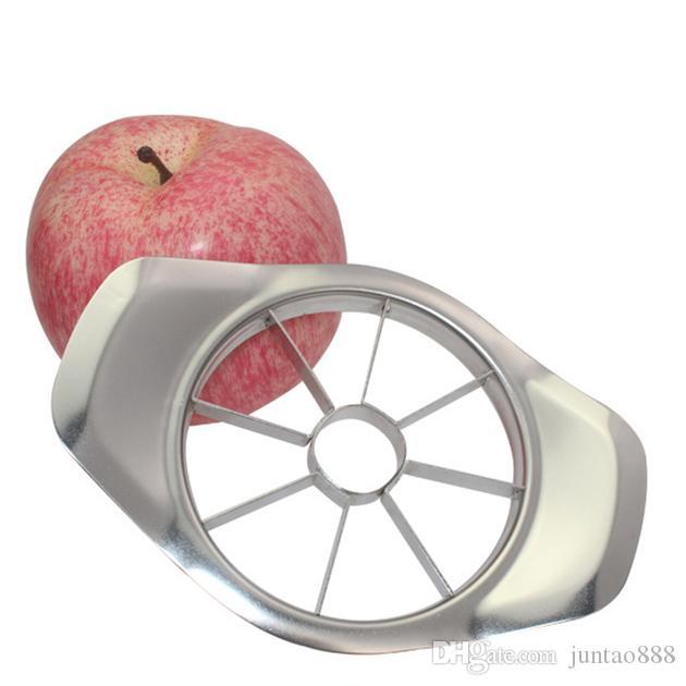 Ücretsiz kargo kesme Elma Kesici Paslanmaz Çelik çok fonksiyonlu corers elma Dilimleyiciler Mutfak meyve sebze aracı Elmalar