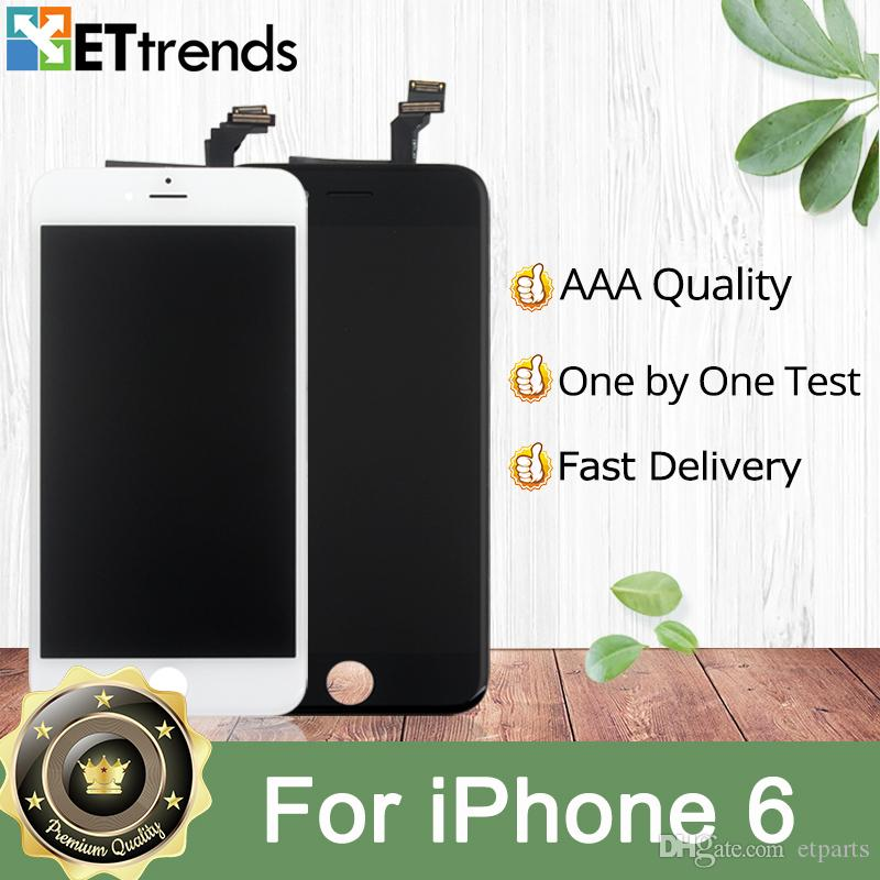 2019 Excellent Quality AAA No Dead Pixel For IPhone 6g 6 Plus 5 5 Screen  Display Black And White Color By DHL AA0046 From Etparts, &Price