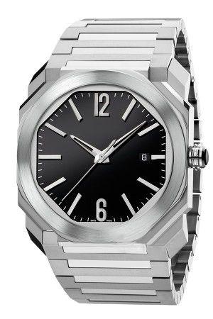رجل جديد ووتش 38MM الطلب OCTO سلسلة عالية الجودة التلقائية الميكانيكية الياقوت زجاج الفولاذ المقاوم للصدأ حزام ساعة اليد 102105 BGO38C3SSD